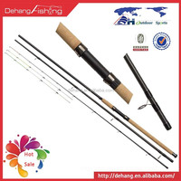 Feeder Rod:3+3 Tips Saltwater Carbon Blank Fishing Feeders Rods