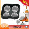 RENJIA diamond ice ball mold ice ball mould tray ice ball maker 4