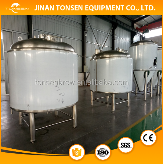 Shandong manufacture 2000L stainless steel mash tun brew kettle beer brewery equipment