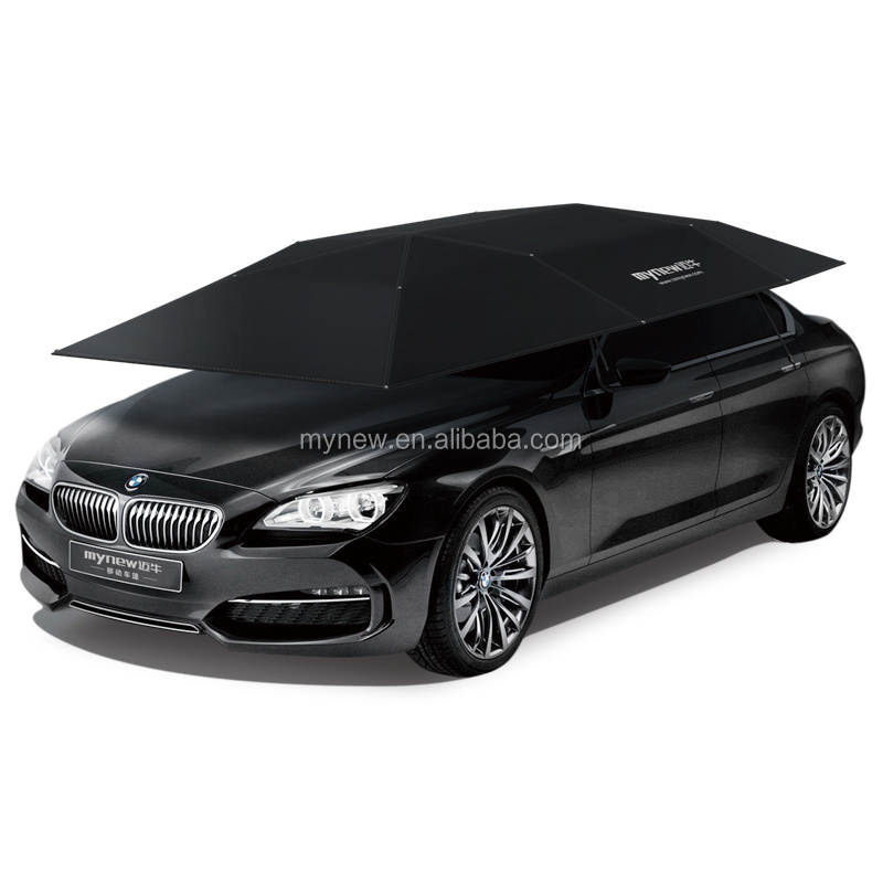 4.5 meters portable car umbrella Mynew 3rd generation Automatic sunshade car cover