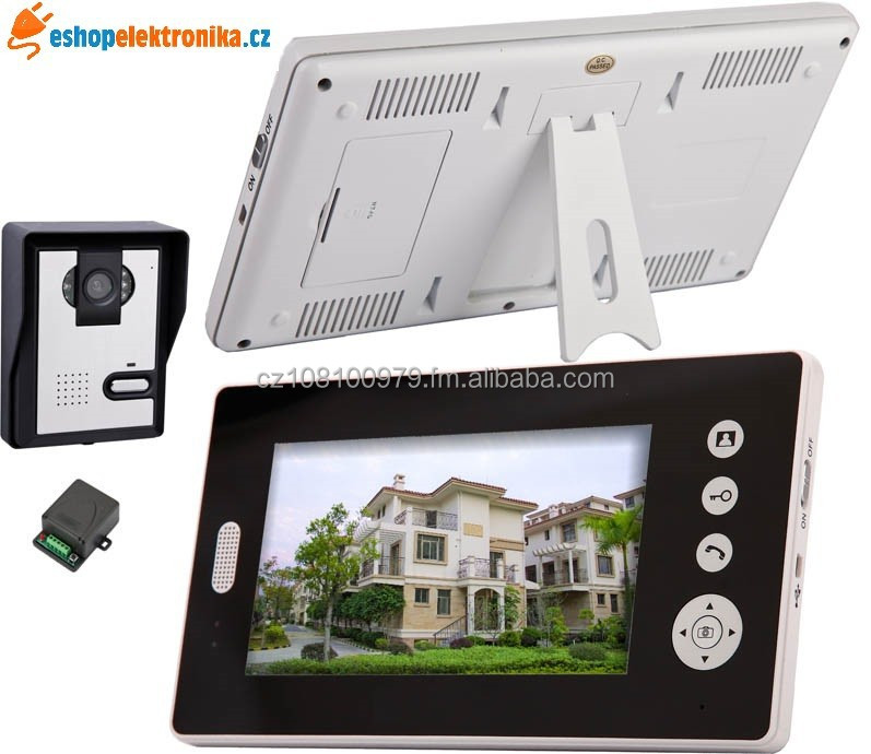 Wireless video door phone.