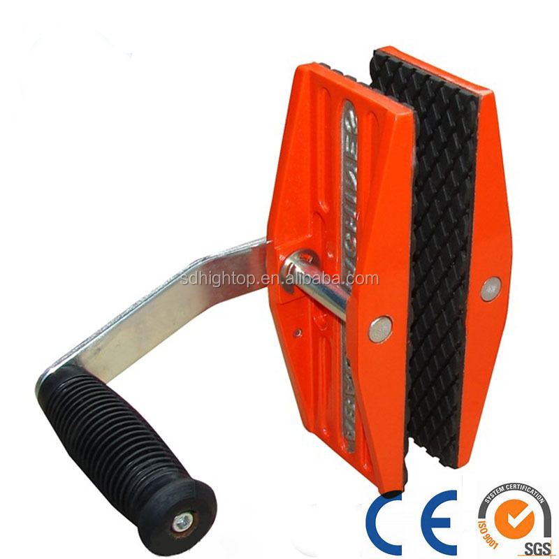 Single hand stone lifting clamps, slab lifter