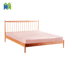 Rugged and customizable color solid wood furniture bed(Dorothy)