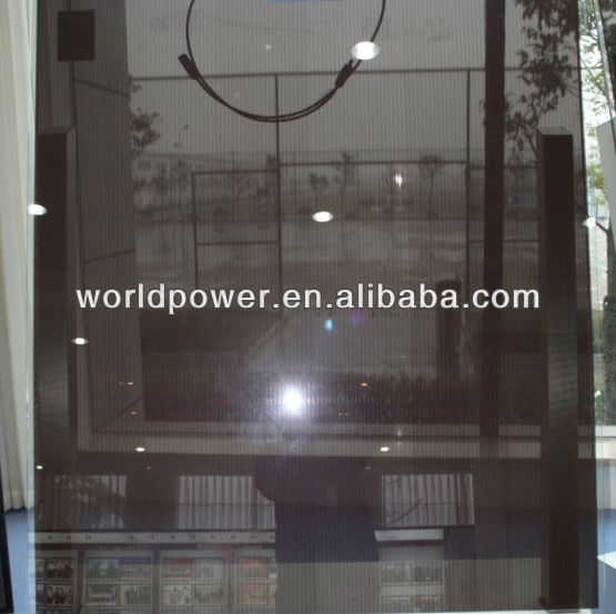 Double Glass Thin Film Transparent BIPV for Building