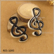 Resin Mixed Musical Note Flatback Cabochon Scrapbook