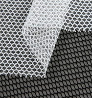 good quality polyester diamond net mesh fabric