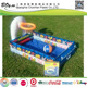 manufacturer Wholesales hot sale OEM balls baby play pvc rectangle swimming children play inflatable basketball pool
