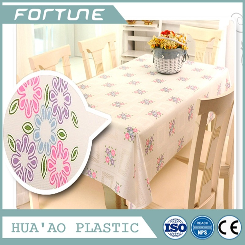 PVC PLASTIC TABLE TOP USED FOR DECORATION