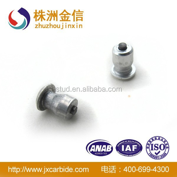 china product wholesale ATVs tire studs for sale with Aluminum body