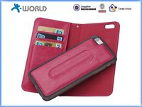 Hot Selling Wallet Folio Flip Leather Case for Wholesales