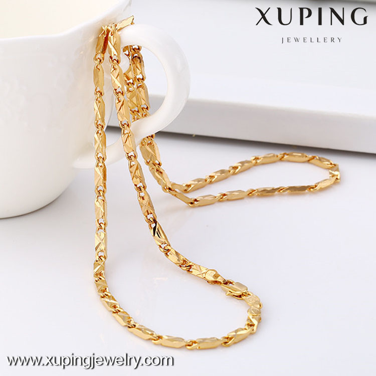 2016 Alibaba Most popular fashion 18k gold men chain necklace