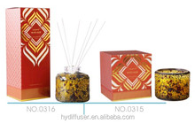 decoration scented aroma soy wax candle & reed diffuser
