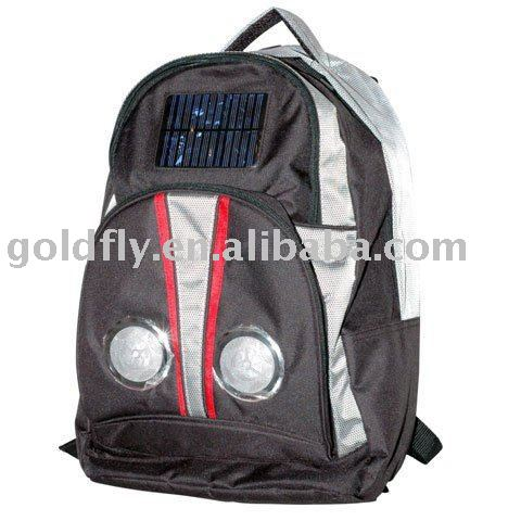 Solar Speaker bag with charger (GF-SSB-01) (stereo speaker bag/solar bag pack/solar speaker bag fashion)