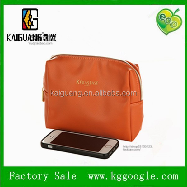 2015 cheap fashion custom promotional fashion beautiful women travel leather pvc cosmetic bag