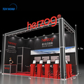 Hanging signs modular exhibition booth for tradeshow booth manufacture