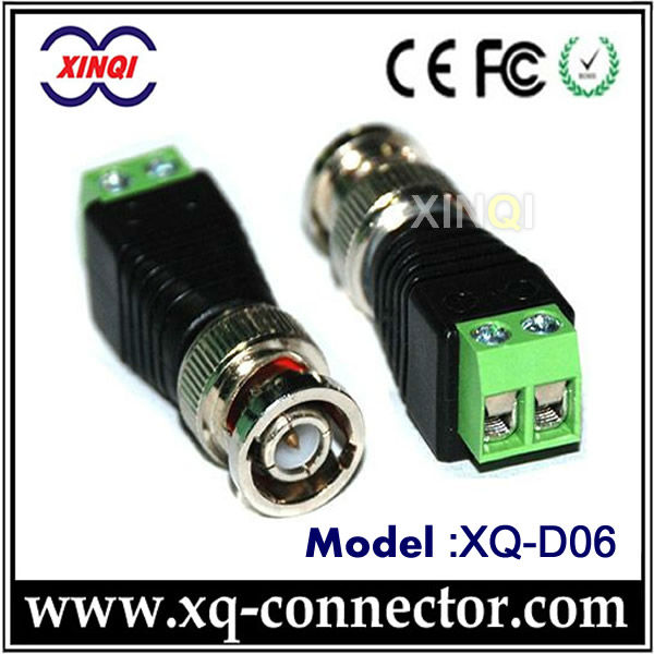 Green With Screw Male Female BNC Connector RG45