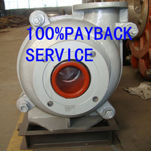 Industrial low volume high pressure slurry pump
