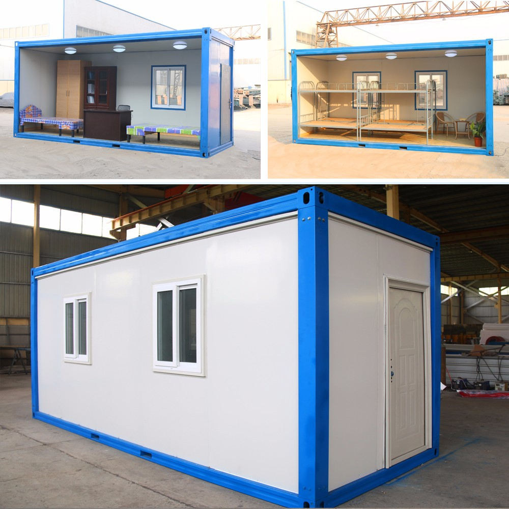 China Economic Comfortable Living granny flat container house price prefab cabin houses