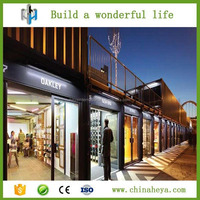 2016 China modern prefab container store good design container store for sale
