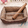 2017 New Design Fashion Soft 100% Cotton Pet House With Leopard Spots