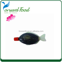 2016 wholesale HALAL fish bottle soy sauce manufacture dark light soy sauce