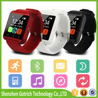 Cheap bluetooth watch for android, smart watch with u8 TFT LCD, touch screen watch mobile phone
