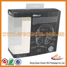 High quality earphone packing box,headphone packaging box,paper packaging box