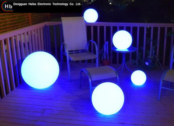 led light Solar Power LED Color Changing Globe Night Light Lamp Garden Ball Light
