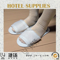 pro hotel supplies for japan market with hotel or disposable hospital slippers