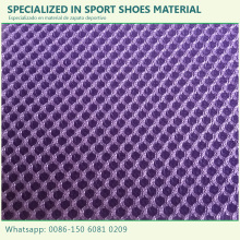 2017 New good service shoe uppers fabric mesh