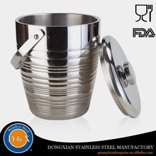 Wholesale Cheap OEM / ODM silver champagne sand ice bucket