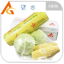 perforated pvc wrap cling film for food packaging