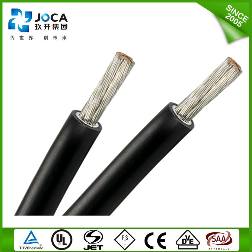 TUV standard PV1-F DC connector Solar Kabel XLPE insulation 10mm2 PV cable