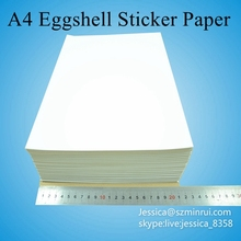 China Manufacturer Ultra Destructible Label Paper,Fragile Eggshell Sticker A4 Security Label Paper In Sheets