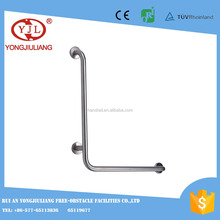 90 degree SS grab bar for disabled people