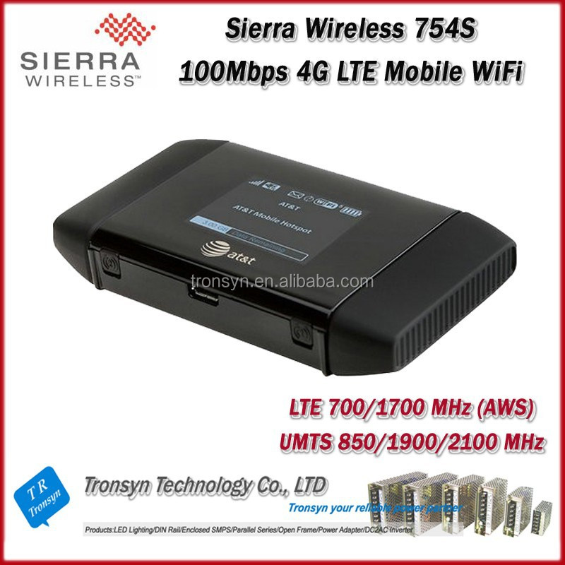Cheapest Originla Unlock LTE 100Mbps Sierra Wireless Aircard 754S 4G LTE GPS WiFi Router Support 700/1700MHz