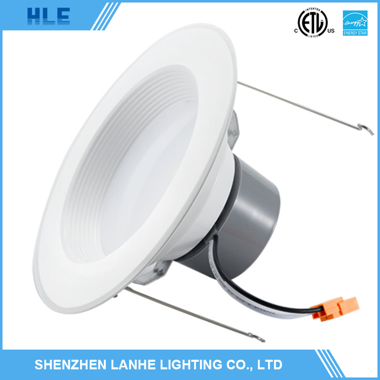 Aluminium led downlight 6 inch ul cul energy star round led dimmable downlight