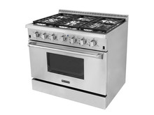 Hyxion - Convection Oven, and 6 Burner Gas Stove - Finish with Stainless S
