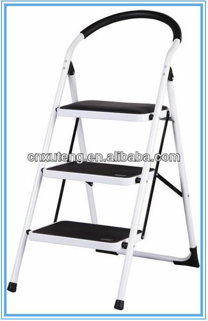 steel warehouse rolling ladder3 step ladder with handle buy steel warehouse rolling ladder3 step ladder with handle3tier step ladder product on