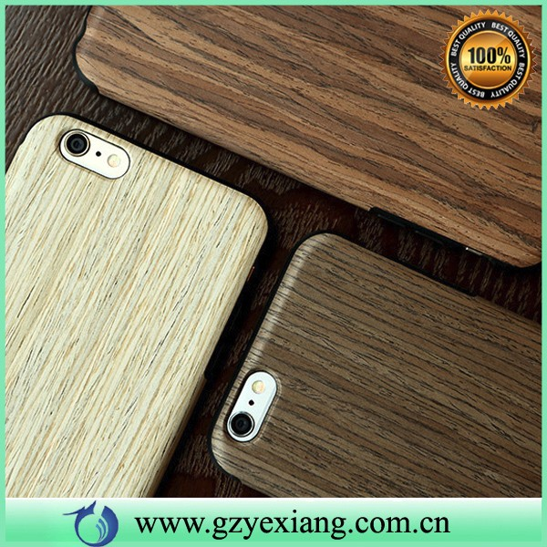 wooden mobile phone cover for iphone 5 case wood + tpu shockproof back case for iphone 5