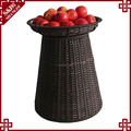 Hot selling washable PE plastic fruit display stand for supermarket