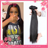 Peruvian Straight Human Hair Peruvian Hair Weft Pussy Hair Removing