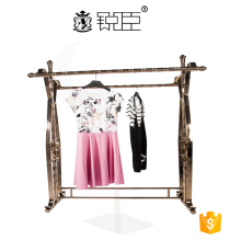 Modern clothing display stand,clothes hanging stand for clothing store