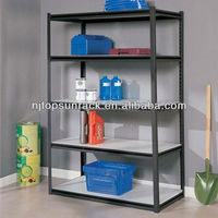 Nanjing TOPSUN Angle iron boltless glass corner shelves