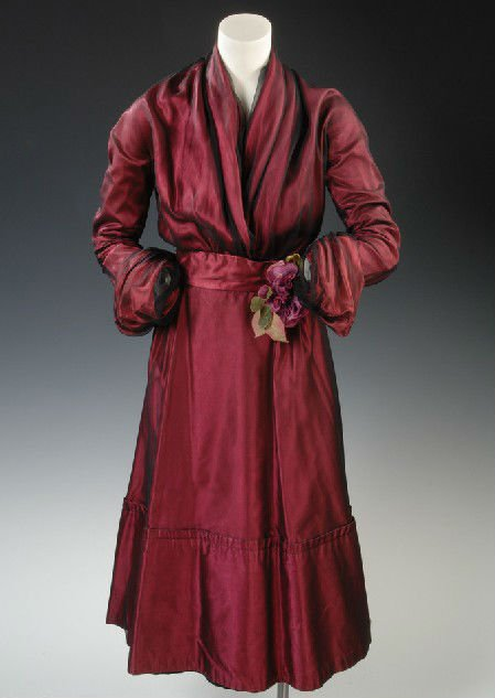 Red Silk Robe for Men(KN-RB-19)