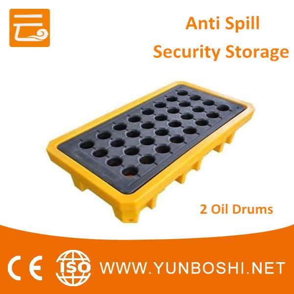 4 Drums Detachable Plastic Pallet