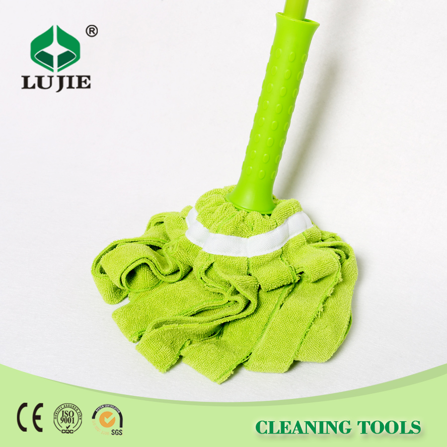 Convenient best price iron cotton easy mops spin