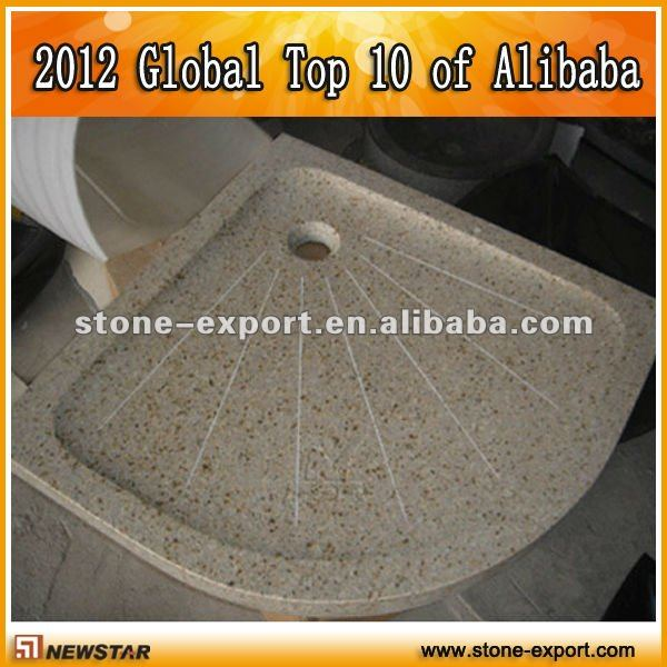 Stone shower tray,bathroom tray