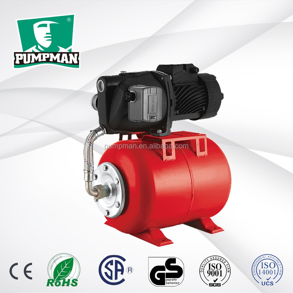PUMPMAN ATJET100 1 hp for household AC motor efficiency self pumping water pump