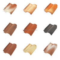 Different Colors Popular Ceramic Clay Roof Tile